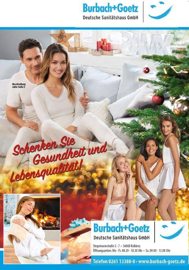 Sanitätshaus Aktuell Weihnachtsprospekt 2017
