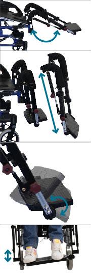 Netti Dynamic Bein-Fußstützen