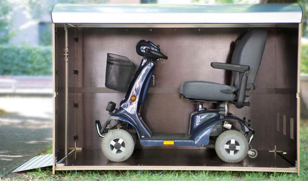 Rollabo xxl plus elektrorollstuhl garagenbox garage f r for Garage scooter ouvert le dimanche