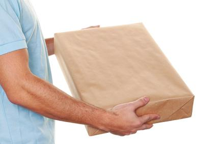 Lieferung in diskreter Verpackung