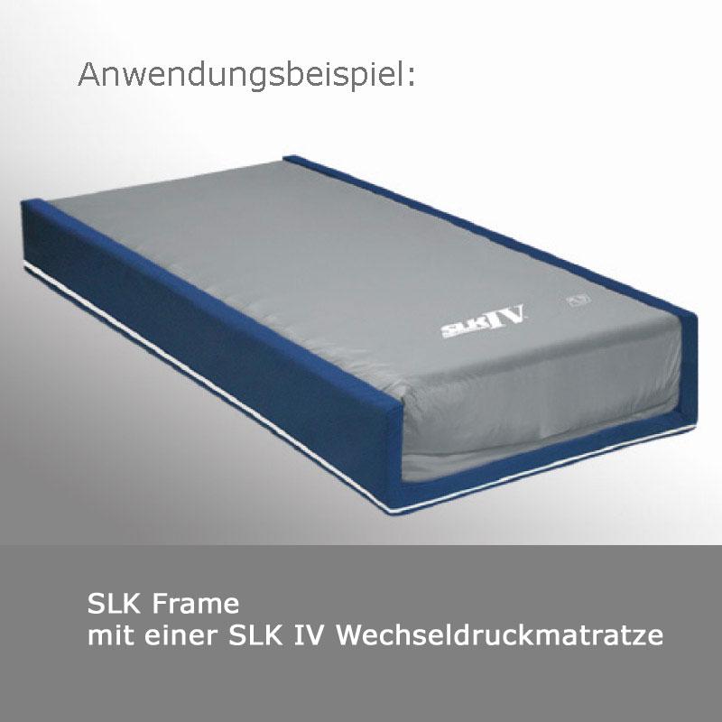 slk frame 90 120 rahmen f r wechseldruckmatratze sonderma zur verwendung im pflegebett. Black Bedroom Furniture Sets. Home Design Ideas
